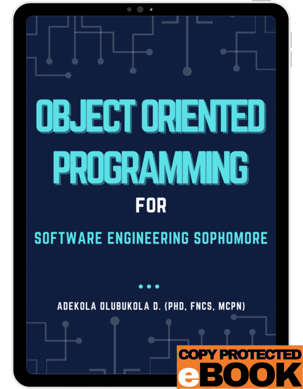 Object Oriented Programming for software Engineeri...